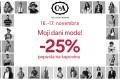 C&A: popust 25% na sve - Stop Shop