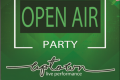 First open air party
