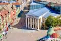 """Obrazovna turistička tura """"Nevidljive mape Subotice"""" i predstava Dah Teatra """"Ne/vidljivi grad"""" - Železnička stanica"""