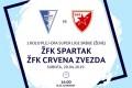 Fudbal: ŽFK Spartak - ŽFK Crvena Zvezda - Gradski stadion