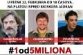 Protest #1od5miliona - Park Ferenca Rajhla