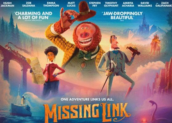 Animirani film: Gospodin Link - u potrazi za skrivenim gradom