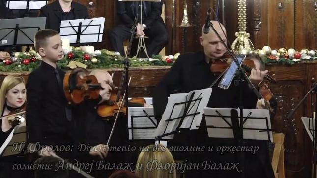 Koncert violinista - Andrej i Florijan Balaž
