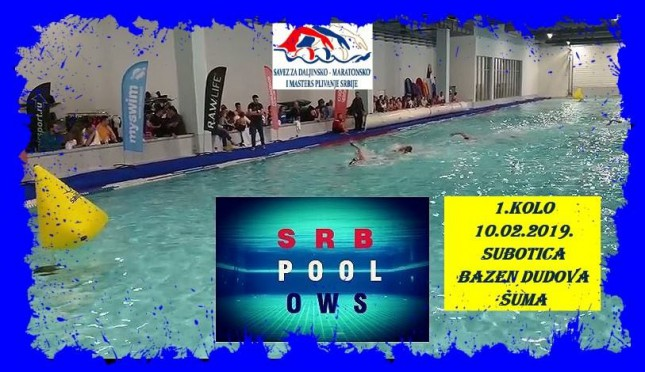 Open SRB pool OWS CUP 2019.