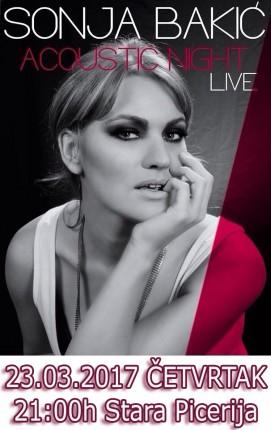 Akustična svirka: Sonja Bakić