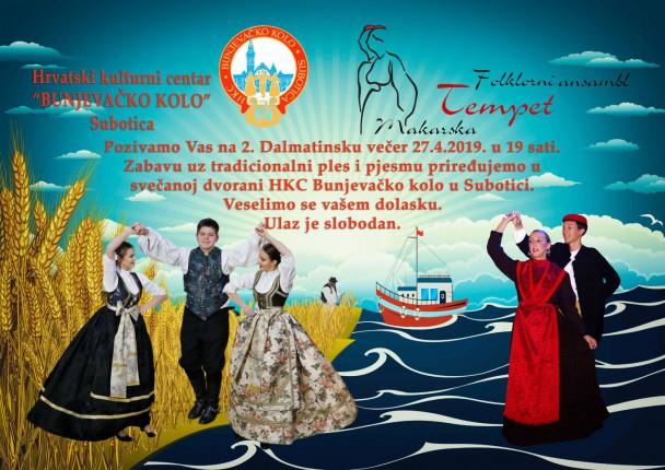 2. Dalmatinsko veče