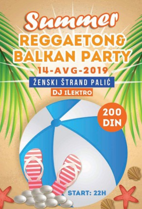 Summer Reggaeton - Balkan party No.2