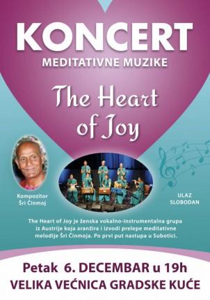 Koncert: The Heart of Joy