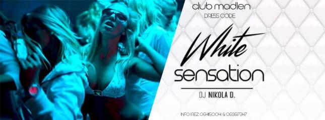 White Sensation at Club Madlen | Petak 12.10