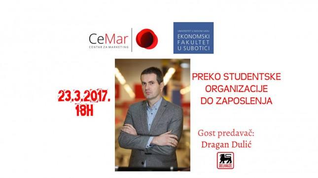 Predavanje: Preko studentske organizacije do zaposlenja