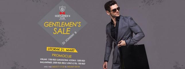 Gentlemensova rasprodaja
