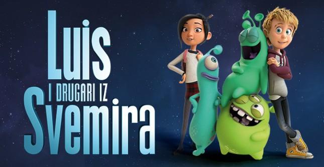 Animirani film: Luis i drugari iz svemira