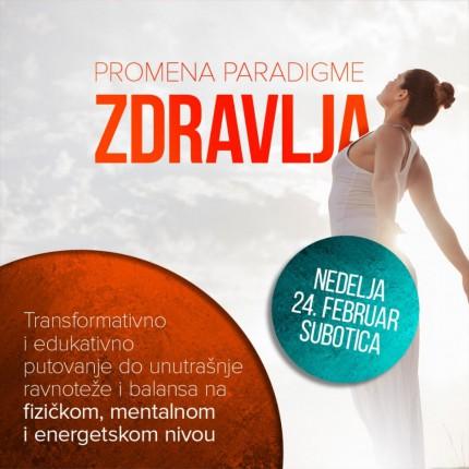 Seminar: Promena paradigme zdravlja