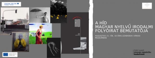A Híd magyar nyelvű irodalmi folyóirat bemutatója