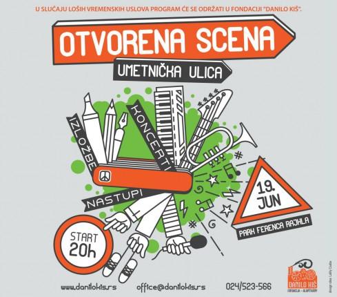 Otvorena scena- Umetnička ulica
