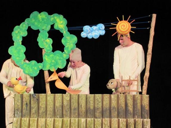 Predstava za decu: Kuče koje nije umelo da laje