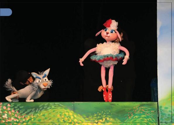 Predstava za decu: Vuk koji je ispao iz knjige