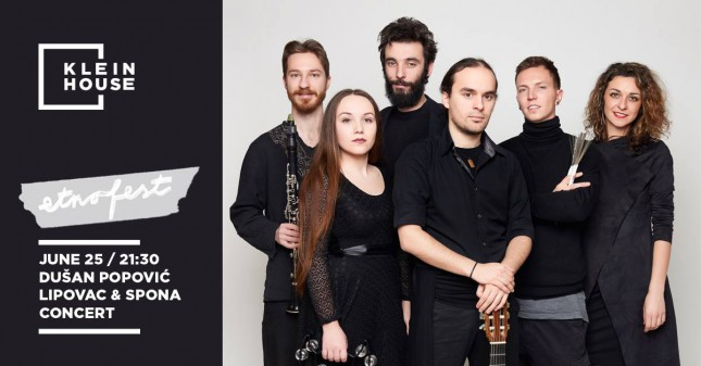 Koncert: Dušan Popović Lipovac & Spona