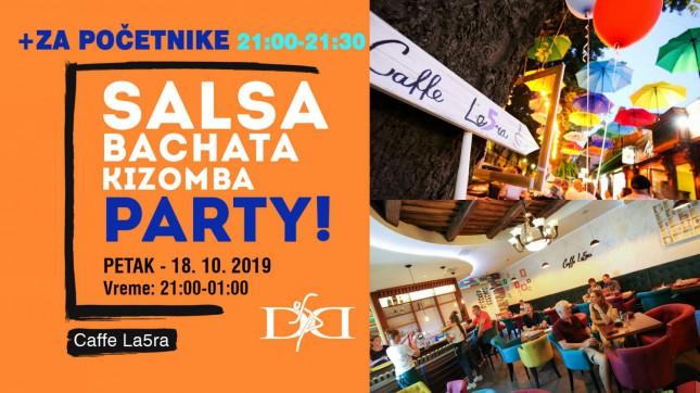 Salsa, Bachata, Kizomba party