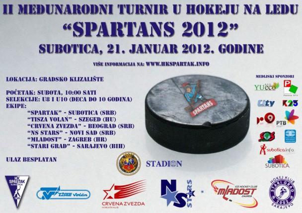 "II međunarodni turnir u hokeju na ledu ""SPARTANS 2012"""