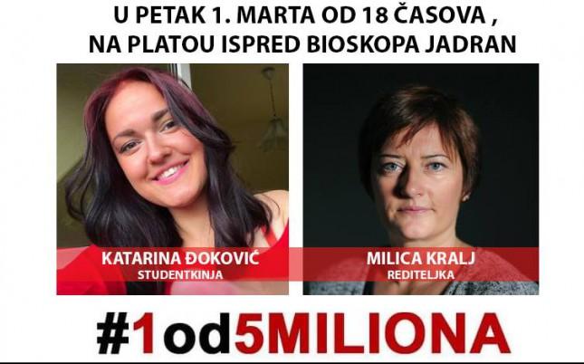 Protest #1od5miliona