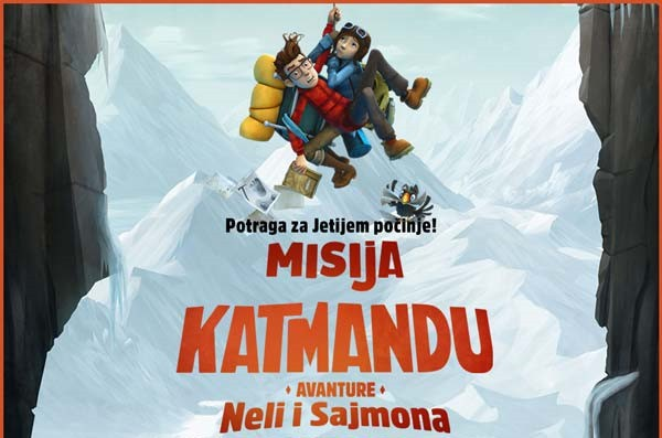 Animirani film: Misija Katmandu: Avanture Neli i Sajmona