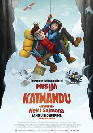 Animirani film: Misija Katmandu: Avanture Neli i Sajmona 3D
