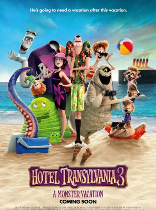 Animiran film: Hotel Transilvanija 3 – Odmor počinje