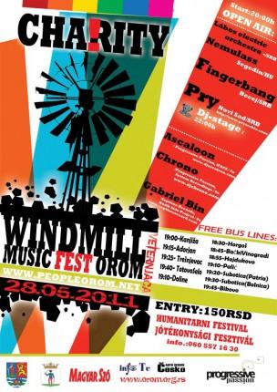 WINDMILL jótékonysági fesztivál OROM - WINDMILL dobrotvorni festival OROM