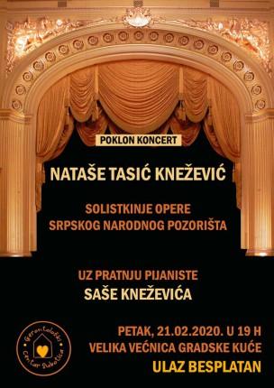 Koncert Nataše Tasić Knežević