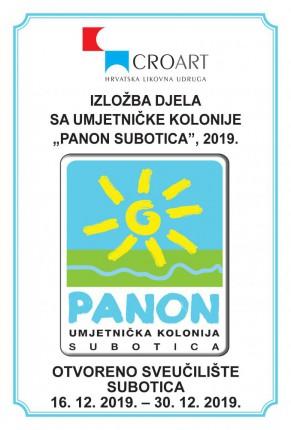 """Otvaranje izložbe slika nastalih na VIII sazivu umjetničke kolonije """"Panon Subotica 2019"""""""