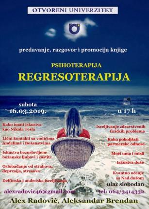 Predavanje i promocija knjige: Regresoterapija