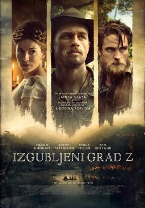 Film: Izgubljeni grad Z