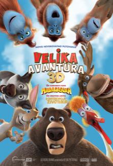 Animirani film:  Velika avantura 3D