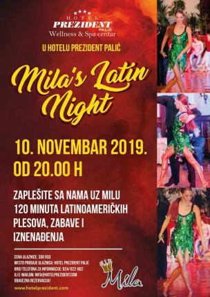 Mila's latino night