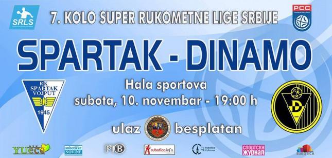 Rukomet: RK Spartak - RK Dinamo