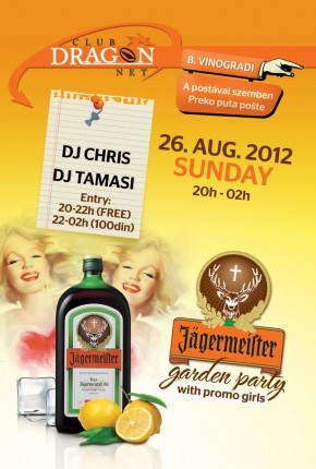 Jager garden party