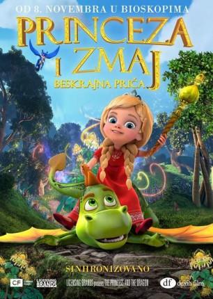 Animirani film: Princeza i zmaj - beskrajna priča 3D