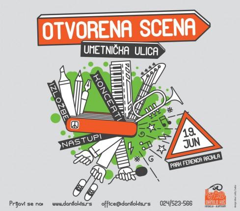 Poziv za učešće u programu: Otvorena scena - Umetnička ulica