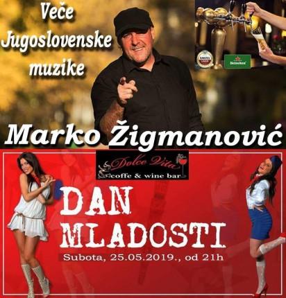 Veče Jugoslovenske muzike - Marko Žigmanović