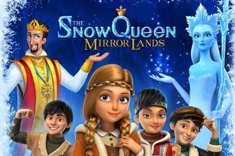 Animirani film: Snežna kraljica 4 - Svet ogledala
