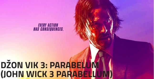 Film: Džon Vik 3 - Parabelum