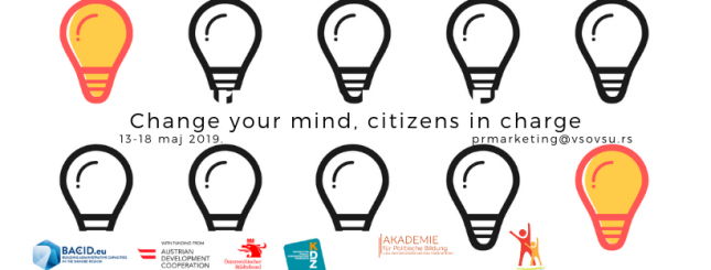 Prezentacija rada obuke: Change your mind - citizens in charge