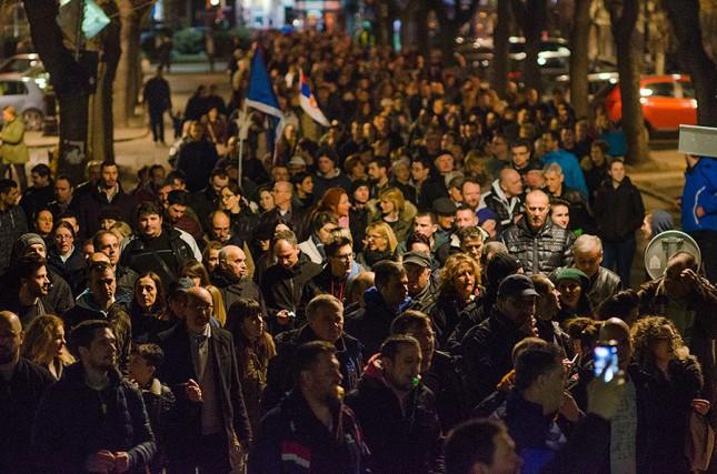 Protestna šetnja #1od5miliona i koncerti