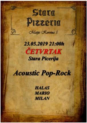 Akustična svirka: Acoustic pop rock
