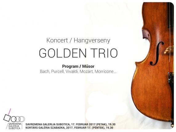 Koncert: Golden trio