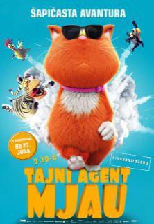 Animirani film: Tajni agent Mjau