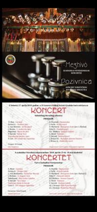 Koncert: Subotički duvački orkestar