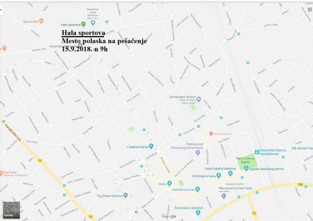 Dan pešačenja u Srbiji