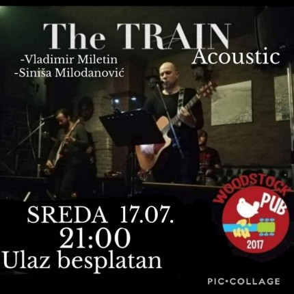 The TRAIN acoustic duo